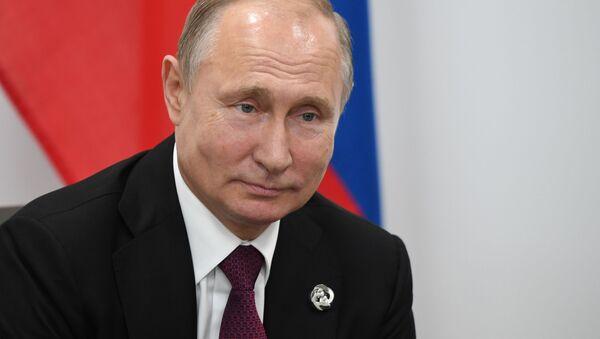 Владимир Путин имшира азгәеиҭоит - Sputnik Аҧсны