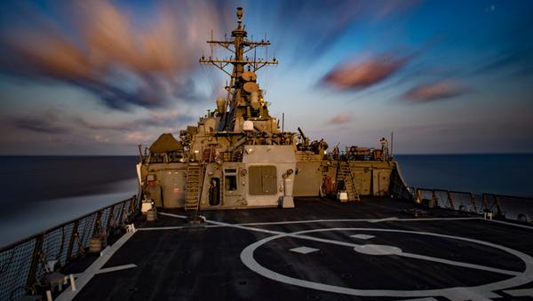 Эсминец Карни ВМС США - Sputnik Абхазия