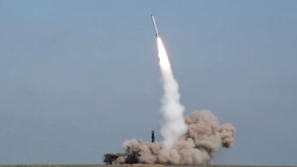На полигоне в Астраханской области проведен боевой пуск ракеты из комплекса Искандер-М - Sputnik Аҧсны