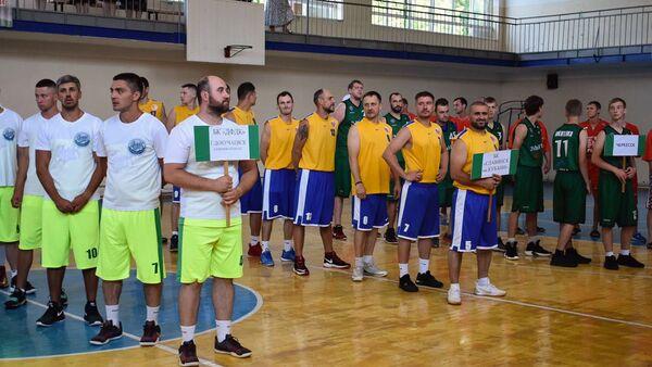 Турнир по баскетболу памяти Сергея Багапш открылся в Абхазии  - Sputnik Абхазия
