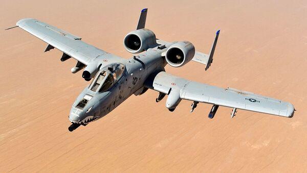 Штурмовой самолет ВВС США A-10C Thunderbolt II  - Sputnik Абхазия