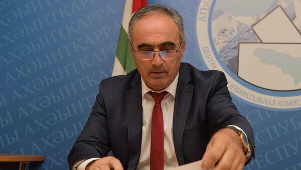 Председатель избирательной комиссии  - Sputnik Абхазия
