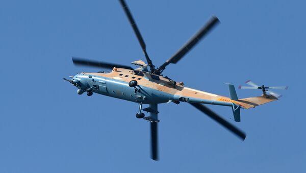 Ударно-транспортный вертолет Ми-35М - Sputnik Абхазия