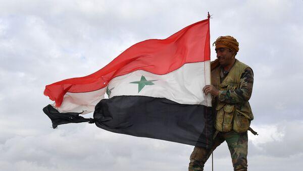 Передовые позиции сирийской армии в районе Алеппо - Sputnik Абхазия