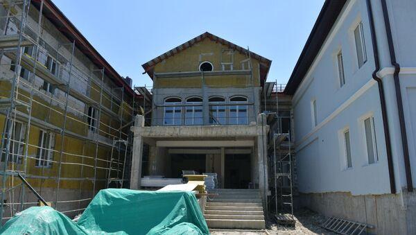 Рабочая поездка Рауля Хаджимба в Очамчыру - Sputnik Абхазия