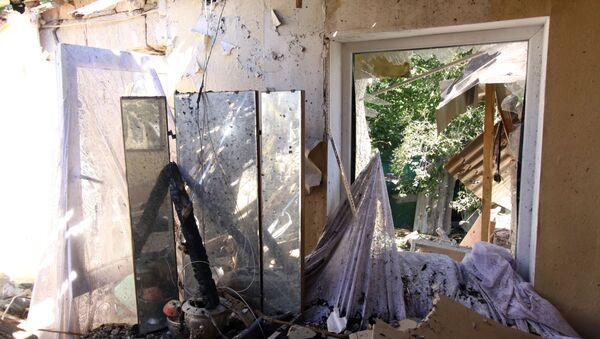 Последствия обстрела в Донецкой области - Sputnik Абхазия