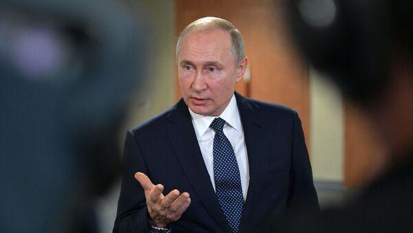 Рабочая поездка президента РФ В. Путина в Екатеринбург - Sputnik Абхазия