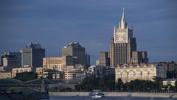 Здание МИД (министерство иностранных дел) в Москве - Sputnik Абхазия
