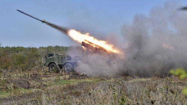 Тактические артиллерийские учения в Краснодарском крае - Sputnik Абхазия
