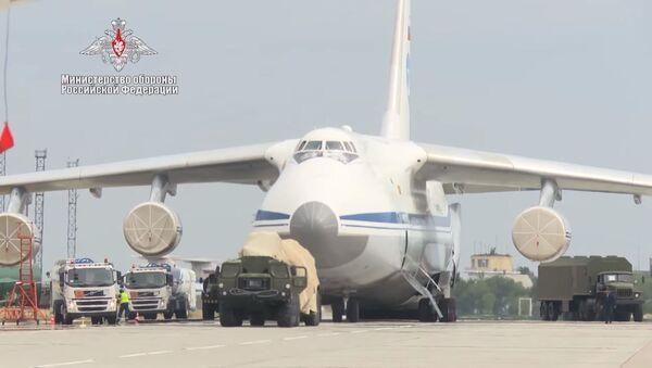 Поставка очередной партии компонентов российской ЗРС С-400 Турции - Sputnik Абхазия