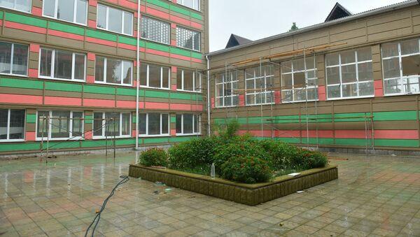 Школа в селе Лыхны - Sputnik Абхазия