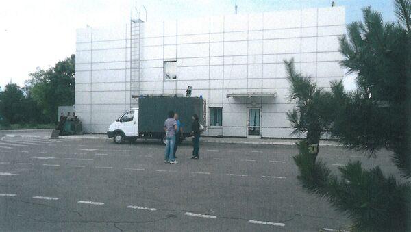 Здание тюрьмы на территории аэропорта в Мариуполе - Sputnik Абхазия