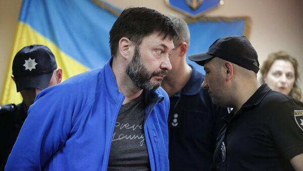 Суд по делу журналиста К. Вышинского в Киеве - Sputnik Абхазия