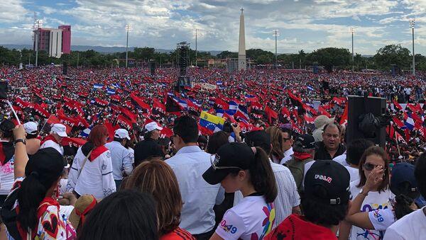 Торжественные мероприятия в Никарагуа  - Sputnik Абхазия