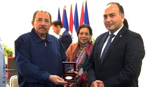 Встреча Главы МИД Даура Кове с Президентом Никарагуа Даниэлем Ортега - Sputnik Абхазия