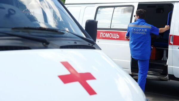 Фельдшер станции скорой медицинской помощи - Sputnik Абхазия