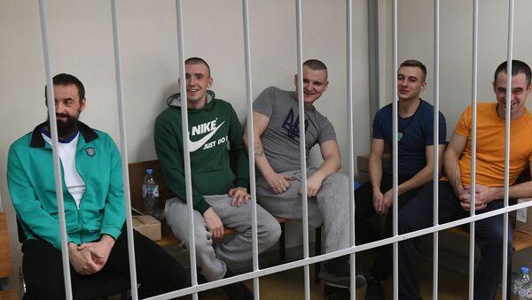Рассмотрение ходатайства о продлении ареста украинским морякам - Sputnik Абхазия
