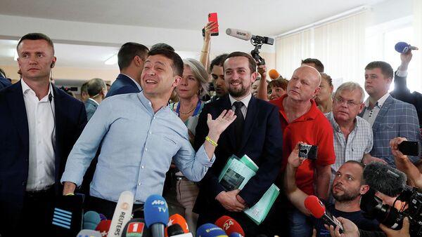 Президент Украины Владимир Зеленский  - Sputnik Абхазия