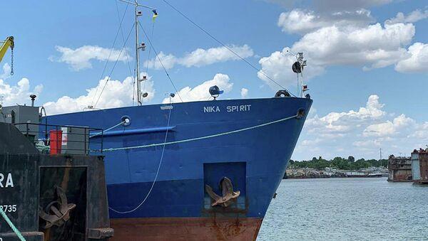 Задержанное российское судно в порту Измаила  - Sputnik Абхазия