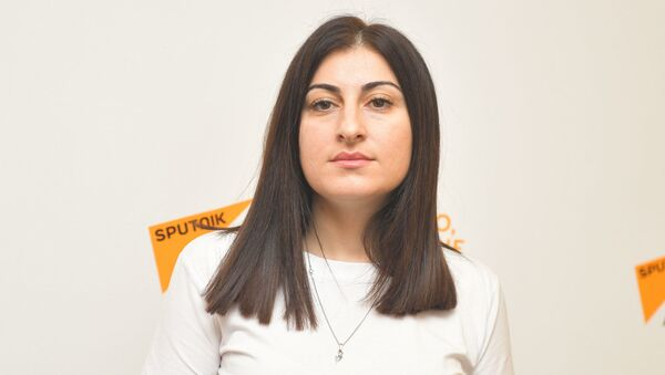 Камилла Хурхумал - Sputnik Абхазия