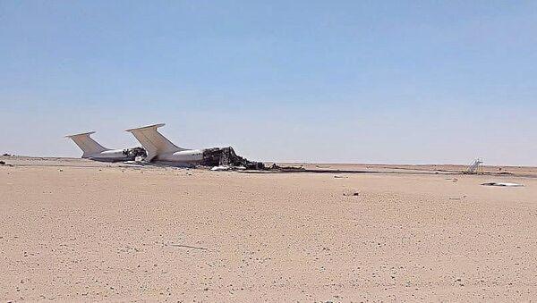 Обломки двух Ил-76 украинской авиакомпании  - Sputnik Абхазия