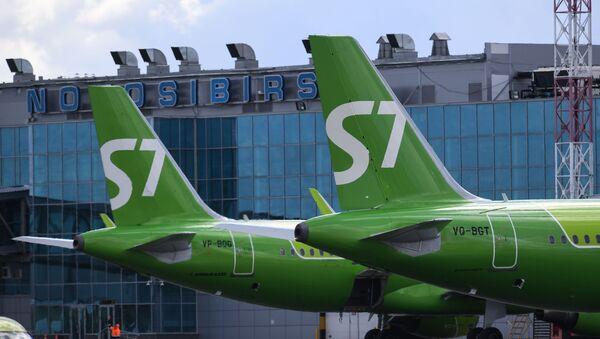 Международный аэропорт Новосибирск  - Sputnik Абхазия