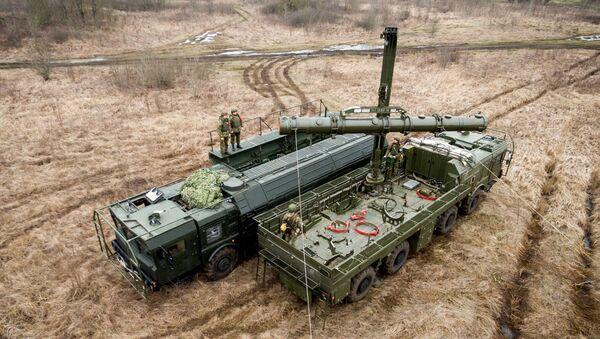 Учения расчетов ракетного комплекса Искандер-М в Краснодарском крае - Sputnik Абхазия