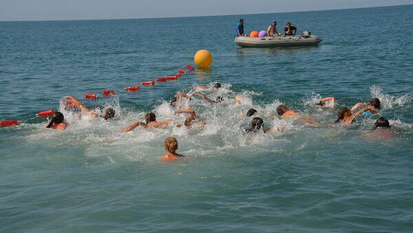 Соревнования Run Swim Sukhum - Sputnik Аҧсны