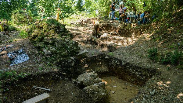 Археологические раскопки в селе Меркула, Очамчырского района  - Sputnik Абхазия