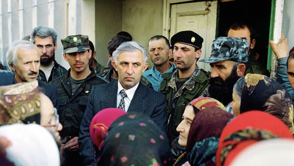 Аслан Масхадов, претендующий на пост президента Чечни  - Sputnik Абхазия