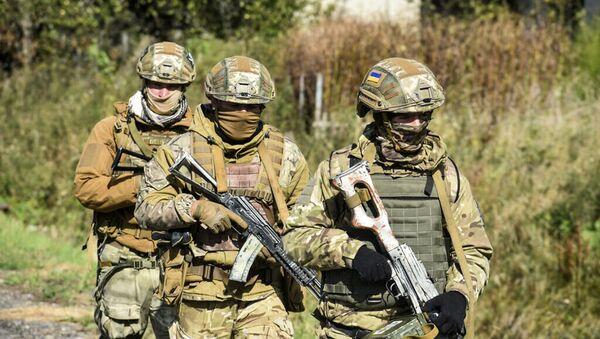 Военнослужащие украины  - Sputnik Абхазия