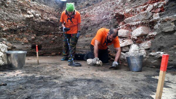 Археологические раскопки на территории Московского Кремля - Sputnik Абхазия