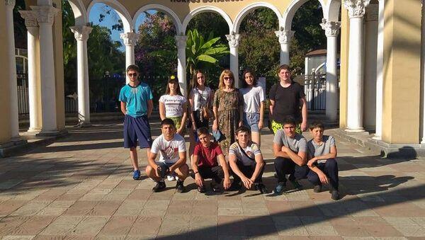 Воспитанники Кадетской школы МО РЮО отдыхают в Абхазии - Sputnik Абхазия