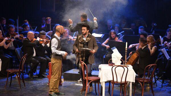 Сухумская Богема: как в РУСДРАМе прошел оперный спектакль - Sputnik Абхазия