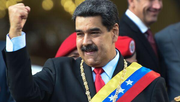 Правительство Венесуэлы выступает против санкционной политики США - Sputnik Абхазия