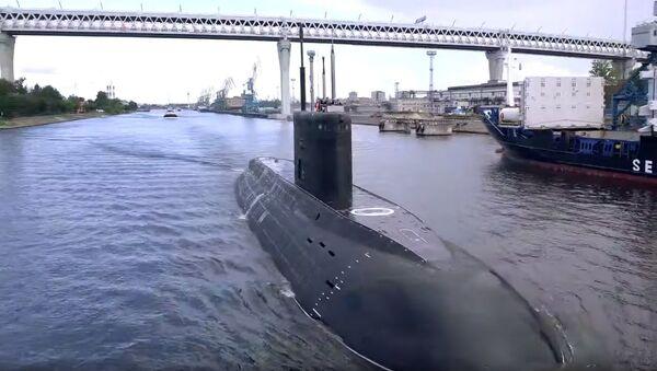 Новейшая подлодка Петропавловск-Камчатский вышла на заводские испытания - Sputnik Абхазия