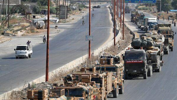 Турецкие военные в Сирии, 19 августа 2019 - Sputnik Абхазия