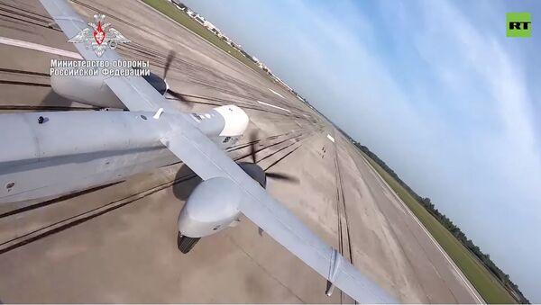 Первый полет военного беспилотника Альтиус-У - Sputnik Абхазия