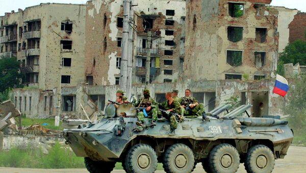 Российские военные патрулируют улицы Грозного - Sputnik Абхазия