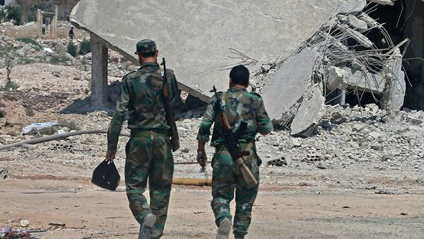 Сирийские правительственные войска в Идлибе  - Sputnik Абхазия