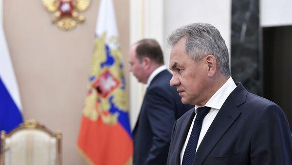 23 августа 2019. Министр обороны РФ Сергей Шойгу  - Sputnik Аҧсны