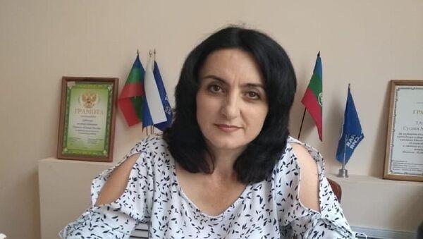 Сусанна Тамова - Sputnik Абхазия