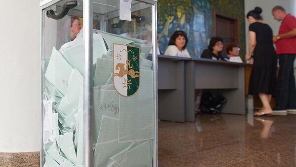 Выборы президента Абхазии - Sputnik Абхазия