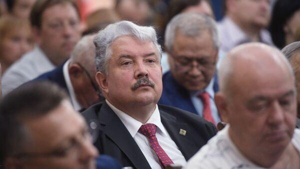 Открытие международного пресс-центра ЦИК Абхазии - Sputnik Аҧсны
