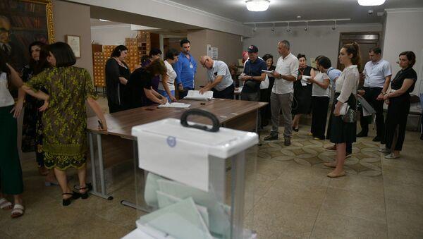 Закрытие избирательных участков  - Sputnik Абхазия