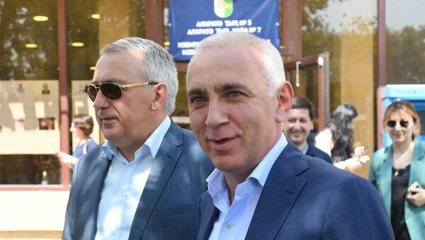 Кандидат в президенты Абхазии Алхас Квициния  - Sputnik Аҧсны