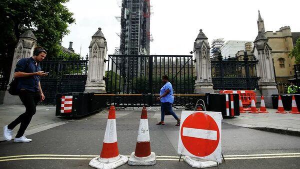Здание парламента Великобритании в Лондоне. 28 августа 2019 - Sputnik Абхазия