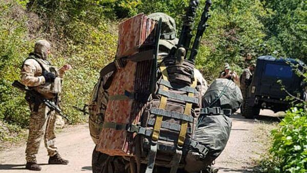 Силовики Южной Осетии  - Sputnik Абхазия