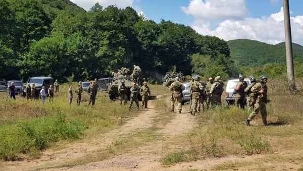 Ситуация в Южной Осетии на границе с Грузией  - Sputnik Абхазия