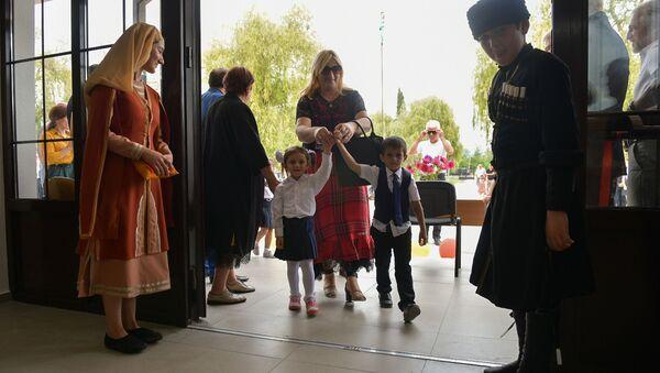 Открытие школы в Ачгуаре - Sputnik Абхазия
